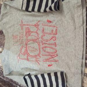 Fun drummer t-shirt